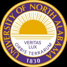 University of North Alabama logo