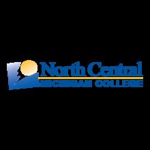 North Central Michigan College logo