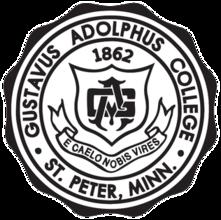 Gustavus Adolphus College logo