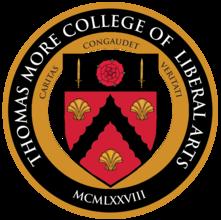 Thomas More College of Liberal Arts logo