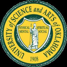 University of Science and Arts of Oklahoma logo